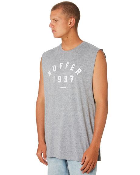 GREY MARLE MENS CLOTHING HUFFER SINGLETS - MSL84J22.115GRYML