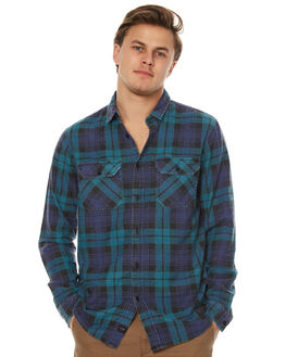 BREEZE GREEN MENS CLOTHING GLOBE SHIRTS - GB01714001BRGRN