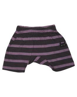 BLACK GRAPE STRIPE KIDS BABY MUNSTER KIDS CLOTHING - MI181PA05SBGS