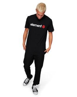 FLINT BLACK MENS CLOTHING ELEMENT TEES - 183001FTBLK