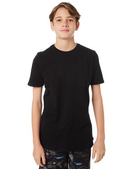 BLACK KIDS BOYS SWELL TEES - S3183004BLACK