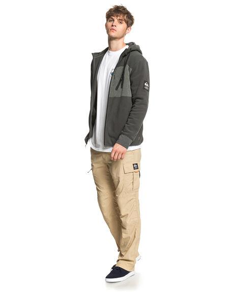 DARK SHADOW MENS CLOTHING QUIKSILVER JUMPERS - EQMFT03052-KRP0