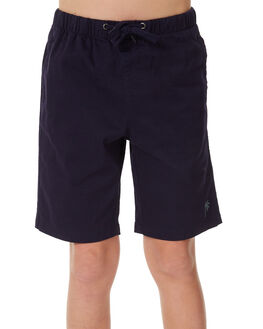 NAVY KIDS BOYS SWELL BOARDSHORTS - S3183237NAVY