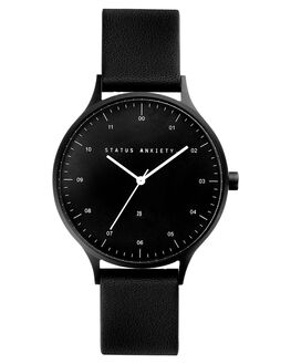BLACK BLACK BLACK MENS ACCESSORIES STATUS ANXIETY WATCHES - SA1528BBB