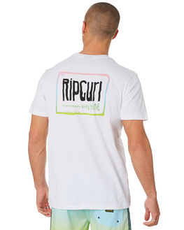 WHITE MENS CLOTHING RIP CURL TEES - CTEKT91000