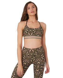 FOLK FLORAL PRINT WOMENS CLOTHING LORNA JANE ACTIVEWEAR - 071903FLK