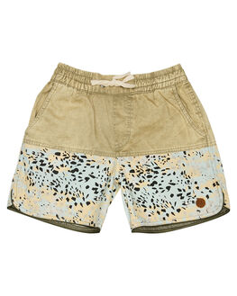 MULTI KIDS BOYS CHILDREN OF THE TRIBE BOARDSHORTS - BYDS0348MUL