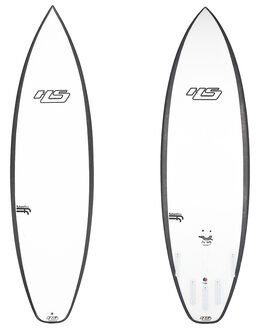 WHITE BLACK BOARDSPORTS SURF HAYDENSHAPES SURFBOARDS - HSLOVEBUZZFFWHTBKB