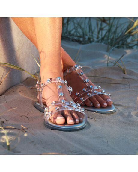 CLEAR WOMENS FOOTWEAR HOLSTER FASHION SANDALS - HST350C