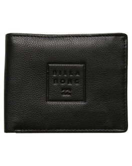 BLACK GRAIN MENS ACCESSORIES BILLABONG WALLETS - 9685185AKGI