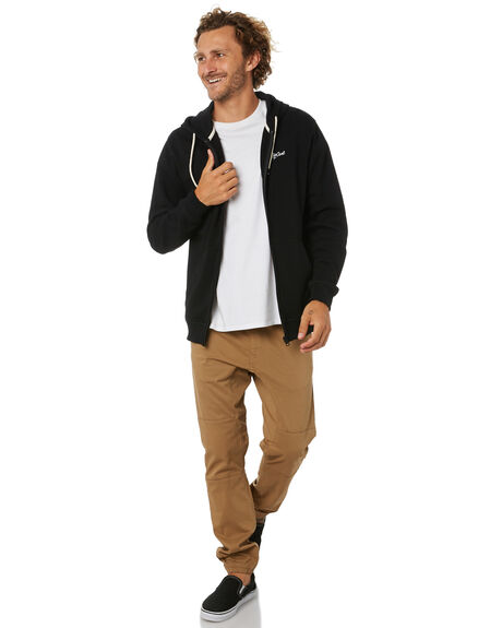 BLACK MENS CLOTHING RIP CURL JUMPERS - CFEQK10090
