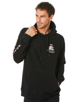 BLACK MENS CLOTHING VOLCOM JUMPERS - A4141902BLK