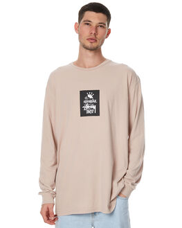 WASHED PINK MENS CLOTHING STUSSY TEES - ST76020WPINK