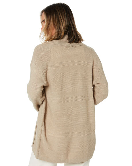 WASHED SAND OUTLET WOMENS SWELL KNITS + CARDIGANS - S8204146WHSND