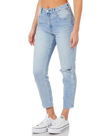 LUCILLE BLUE WOMENS CLOTHING WRANGLER JEANS - W-951342-KU2