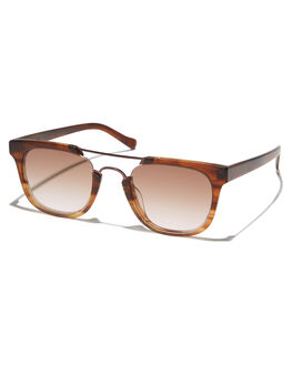 GRADIENT BROWN MENS ACCESSORIES SUNDAY SOMEWHERE SUNGLASSES - SUN155-GRA-SUNGBRWN