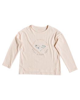 CLOUD PINK KIDS GIRLS ROXY TOPS - ERLZT03203-MCW0
