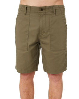 OLIVE MENS CLOTHING OUTERKNOWN SHORTS - 1710024OLV