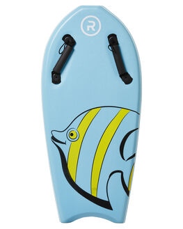 LIGHT BLUE WHITE BOARDSPORTS SURF RANDOM SOFTBOARDS BOARDS - CLSSTBB36LBLUW
