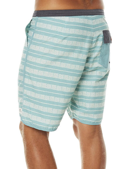 GREEN MENS CLOTHING KATIN BOARDSHORTS - TRROP16GRN