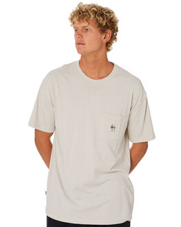 WHITE SAND MENS CLOTHING STUSSY TEES - ST005002WTSND
