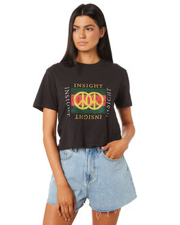 BLACK WOMENS CLOTHING INSIGHT TEES - 5000003207BLK