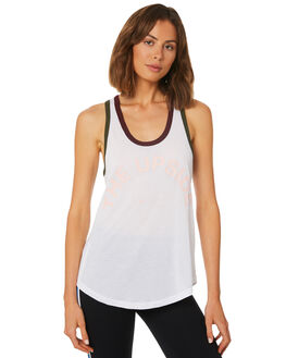 WHITE MULTI WOMENS CLOTHING THE UPSIDE ACTIVEWEAR - UPSW418078WHI