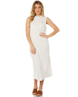 WHITE OUTLET WOMENS C&M CAMILLA AND MARC DRESSES - TCMD1543WHITE
