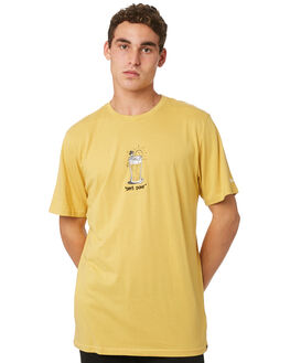 DULL GOLD MENS CLOTHING VOLCOM TEES - A5041G83DUL
