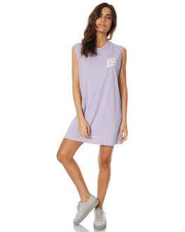 LILAC WOMENS CLOTHING RVCA DRESSES - R271759LILAC