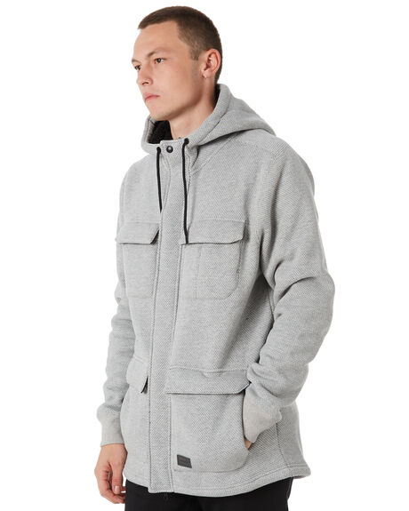 GREY MENS CLOTHING VOLCOM JUMPERS - A5811800GRY