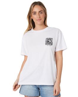 WHITE WOMENS CLOTHING RUSTY TEES - TTL1051WHT
