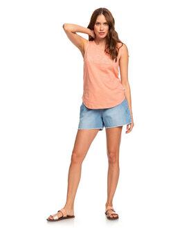 CANYON CLAY WOMENS CLOTHING ROXY SINGLETS - ERJZT04763-MJR0