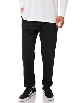 BLACK MENS CLOTHING ADIDAS PANTS - DU8321BLK