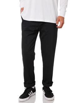 BLACK MENS CLOTHING ADIDAS PANTS - DU8321BLK