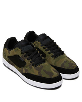 BLACK CAMO MENS FOOTWEAR ETNIES SNEAKERS - 4101000516594