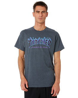 DARK HEATH MENS CLOTHING THRASHER TEES - 20065193DKHTH