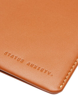 CAMEL MENS ACCESSORIES STATUS ANXIETY WALLETS - SA2253CAM