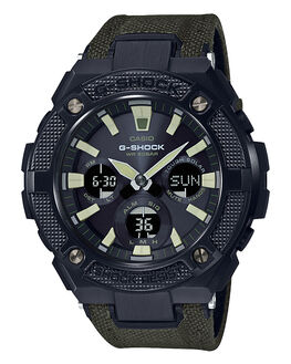 BLACK OLIVE MENS ACCESSORIES G SHOCK WATCHES - GSTS130BC-1A3BLKO