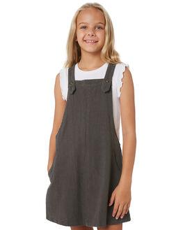 NAVAL GREY KIDS GIRLS RUSTY DRESSES + PLAYSUITS - DRG0004NVG