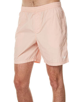 SOLID PEACH MENS CLOTHING STUSSY BOARDSHORTS - ST071611PEA