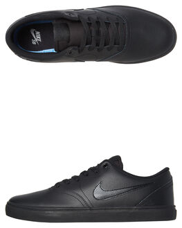 BLACK BLACK MENS FOOTWEAR NIKE SKATE SHOES - 843895-009