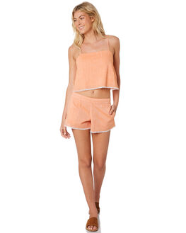 TANGERINE WOMENS CLOTHING NUDE LUCY SHORTS - NU23472TAN