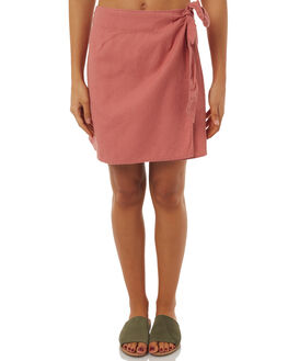 DUSTY PINK WOMENS CLOTHING ALL ABOUT EVE SKIRTS - 6403024PNK