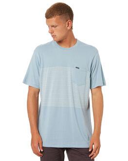 SLATE BLUE MENS CLOTHING VOLCOM TEES - A0141804SLB