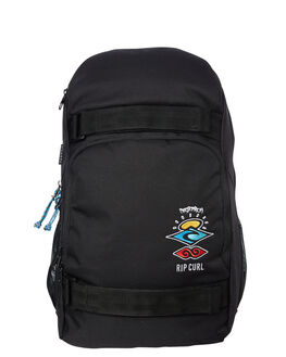 BLACK MENS ACCESSORIES RIP CURL BAGS + BACKPACKS - BBPZU20090