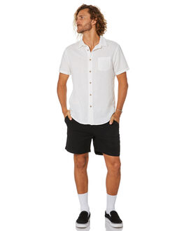 BLACK MENS CLOTHING SWELL SHORTS - S5201234BLACK