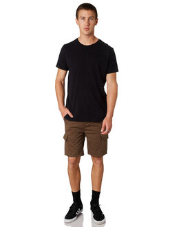 PURGE BROWN MENS CLOTHING GLOBE SHORTS - GB01816015PUBRN