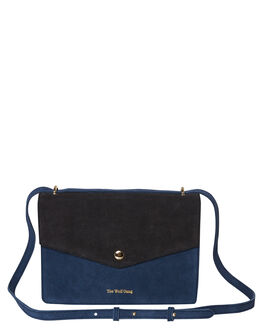 RIVIERA  STORM SUEDE WOMENS ACCESSORIES THE WOLF GANG BAGS + BACKPACKS - TWGAW19A01-RDSRVSTM