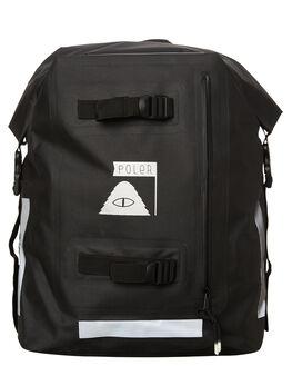 BLACK MENS ACCESSORIES POLER BAGS - 13100018BLK